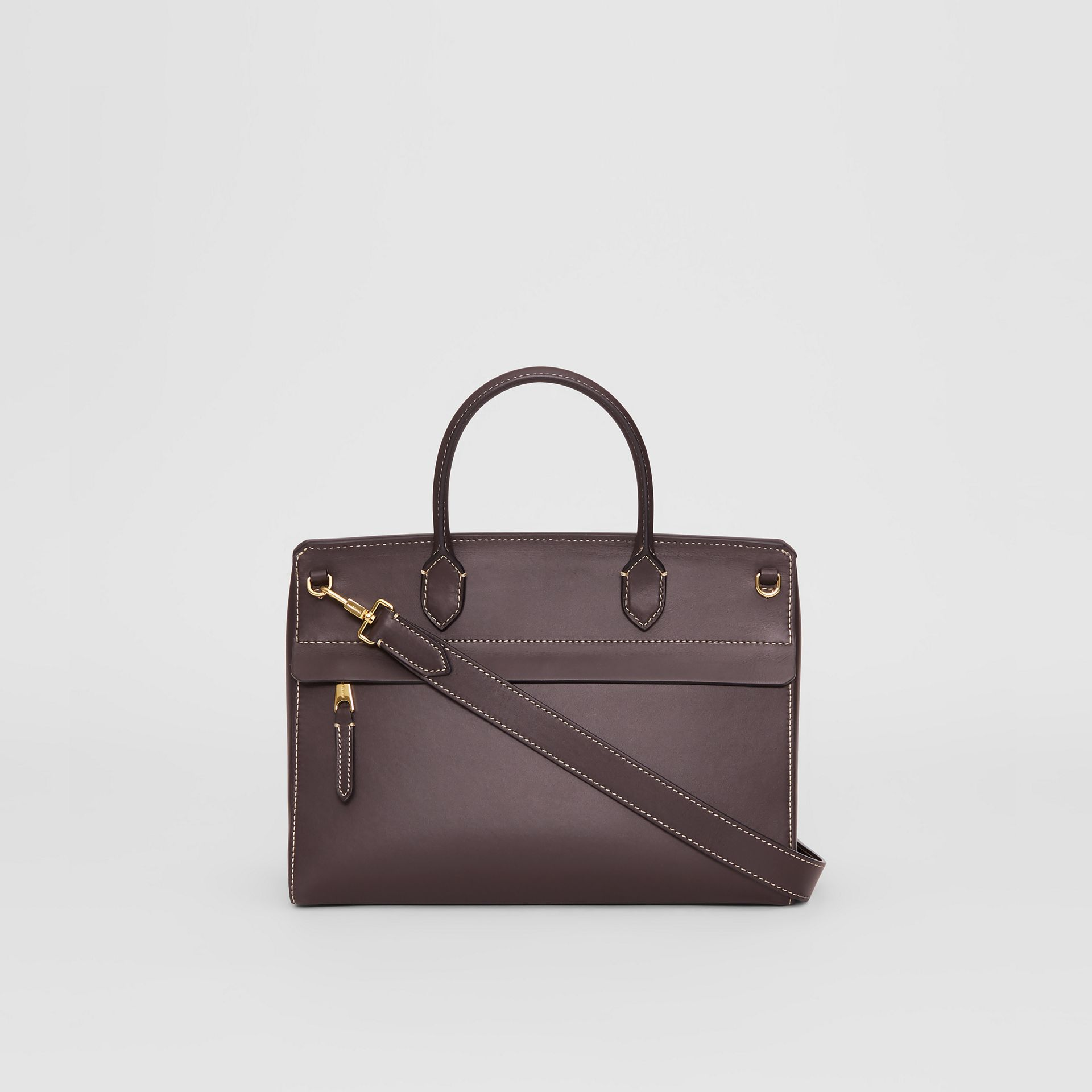 Small Leather Elizabeth Bag in Coffee - Women | Burberry - gallery image 7