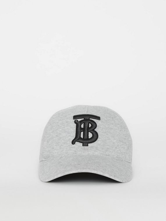 c7658a088cadb Monogram Motif Baseball Cap in Light Grey Melange