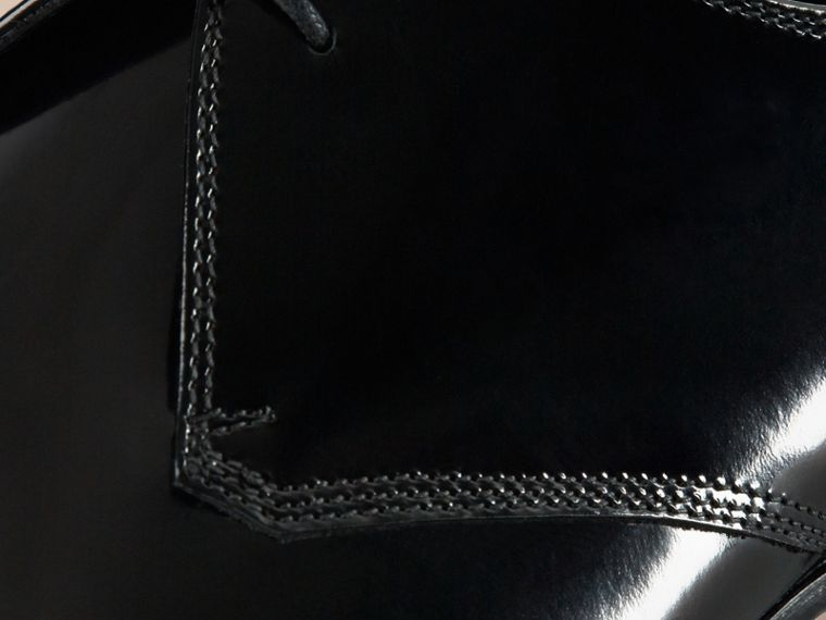 Nero Scarpe da cerimonia in pelle lucida - cell image 1