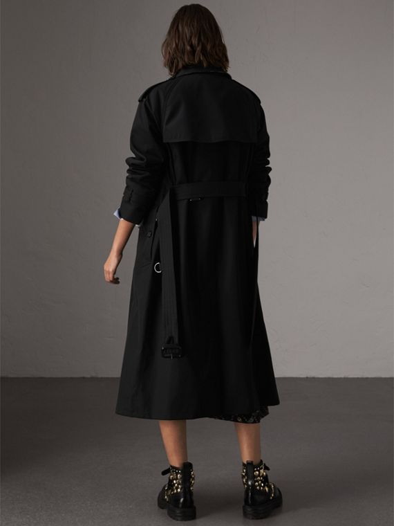The Westminster – Extra-long Trench Coat in Black - Women | Burberry United Kingdom - cell image 2