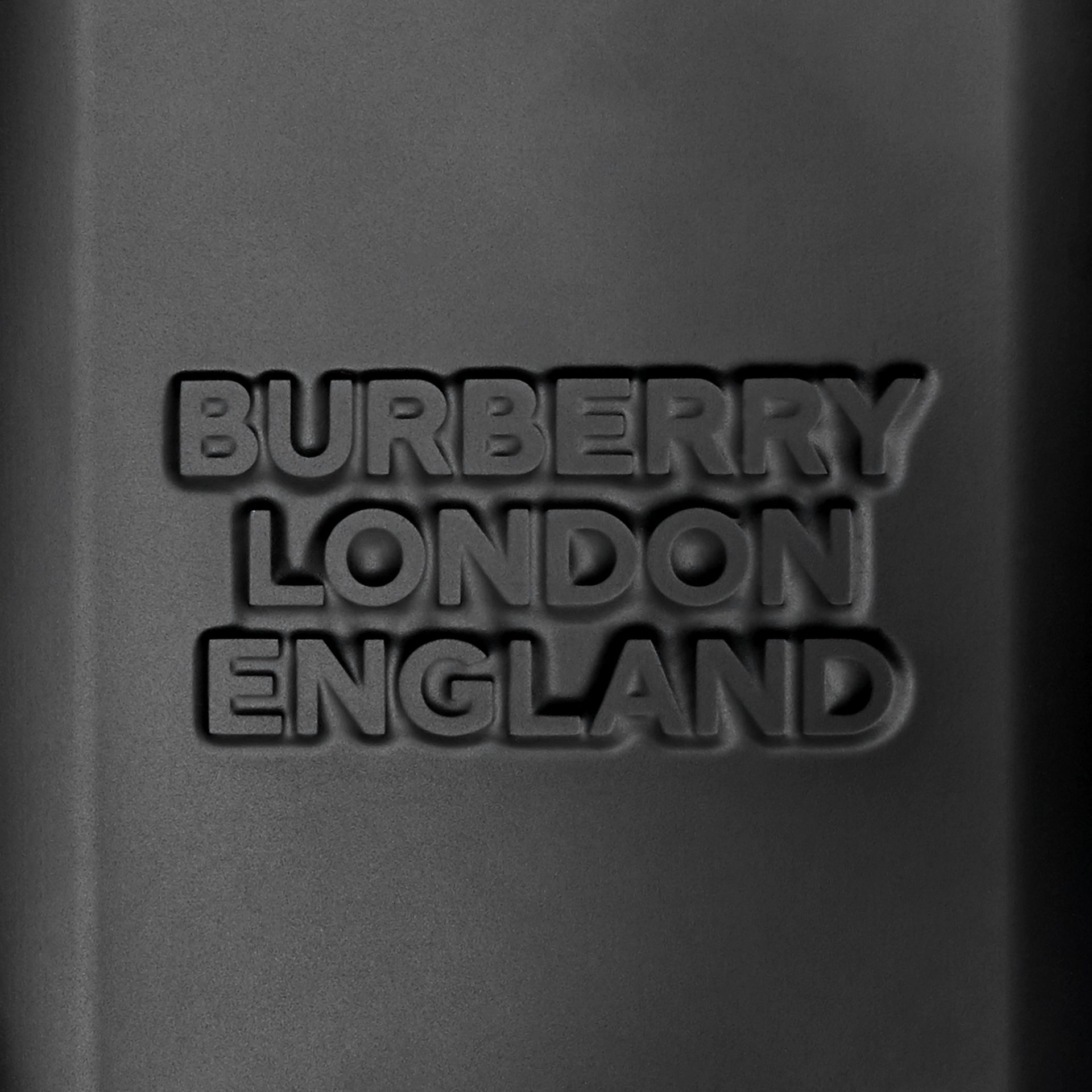 Logo Embossed Panel Nylon Harness Bag in Black - Men | Burberry United Kingdom - gallery image 8