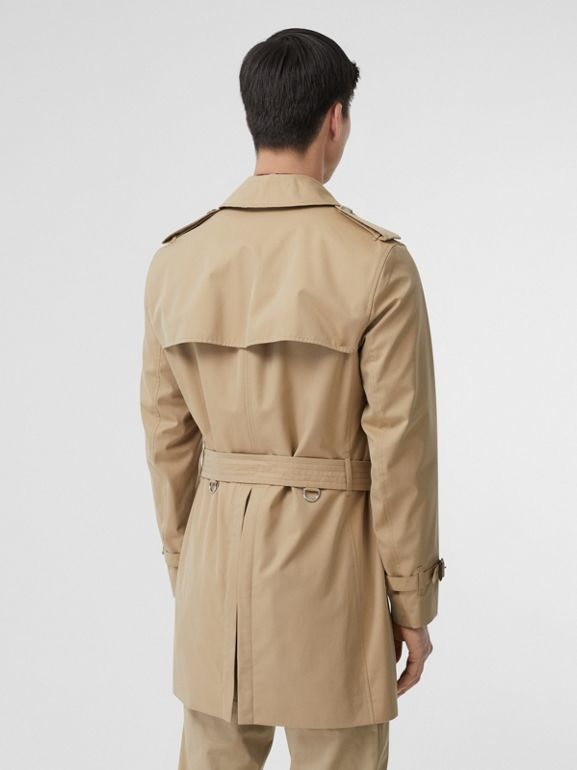 Cotton Gabardine Trench Coat in Honey - Men | Burberry - cell image 1