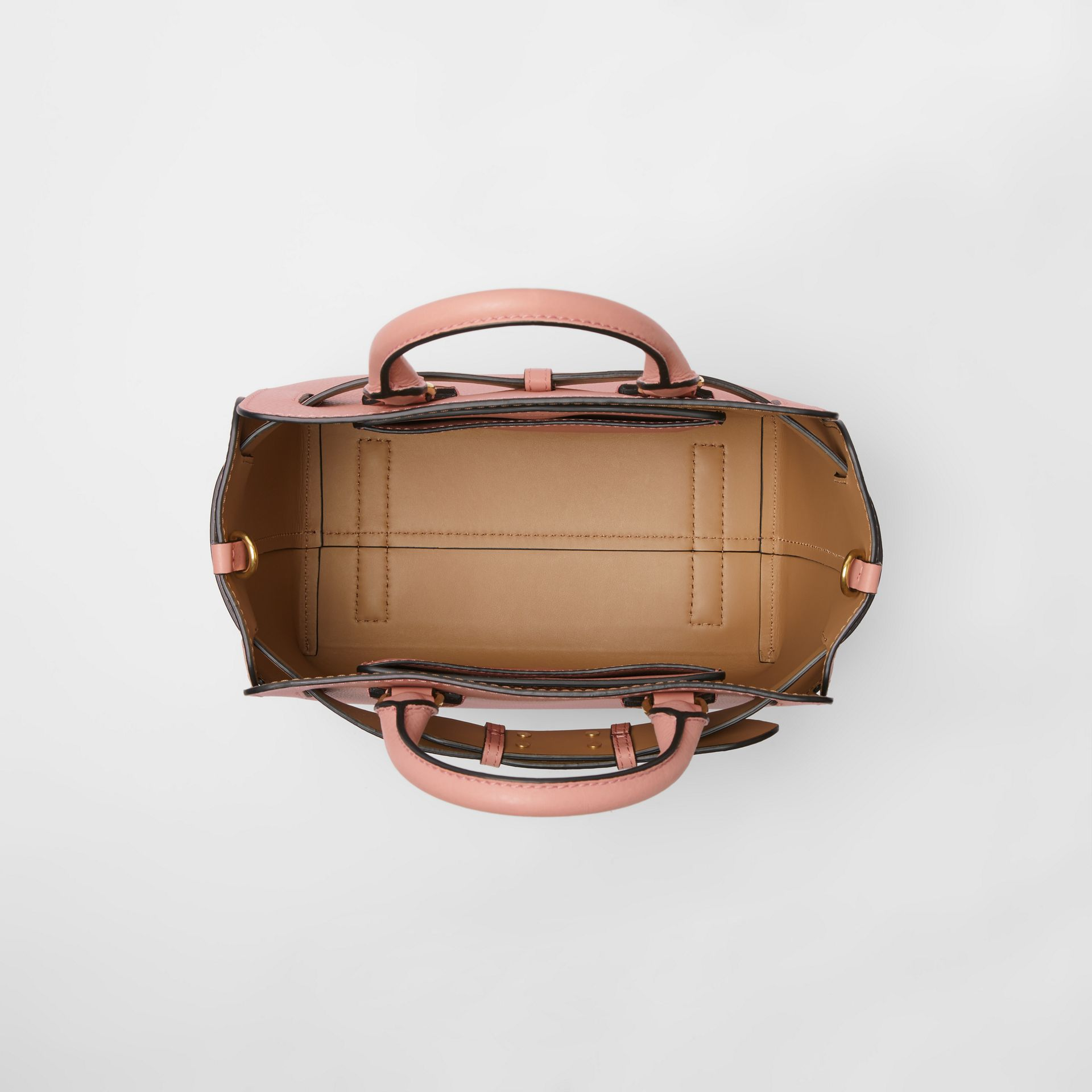 The Small Leather Belt Bag in Ash Rose - Women | Burberry Singapore - gallery image 5