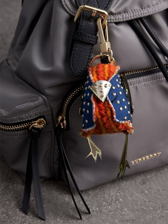 Derek The Bird Cashmere Charm in Clementine | Burberry Hong Kong - cell image 2