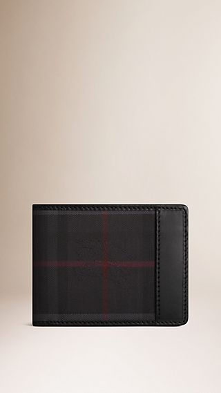 Horseferry Check Wallet