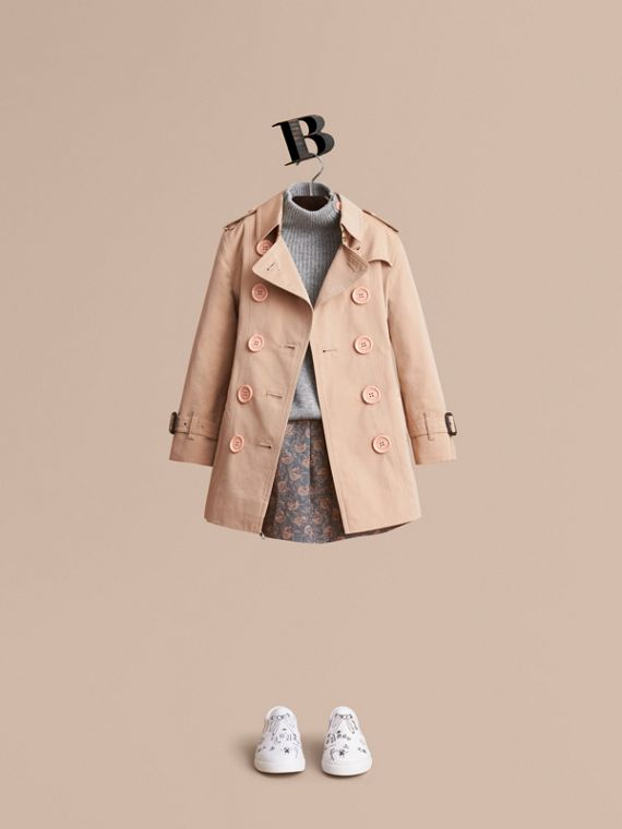 The Sandringham – Heritage Trench Coat - Girl | Burberry Australia
