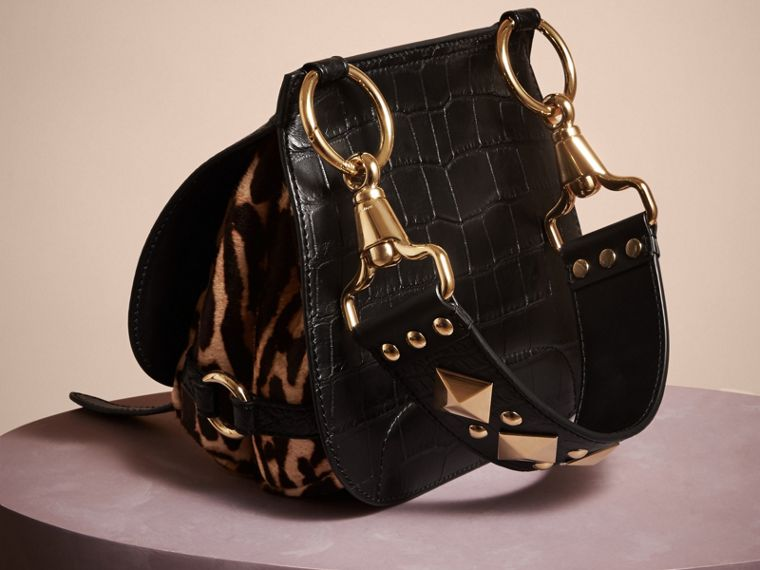 The Bridle Bag aus Alligatorleder und Kalbfell - Damen | Burberry - cell image 1