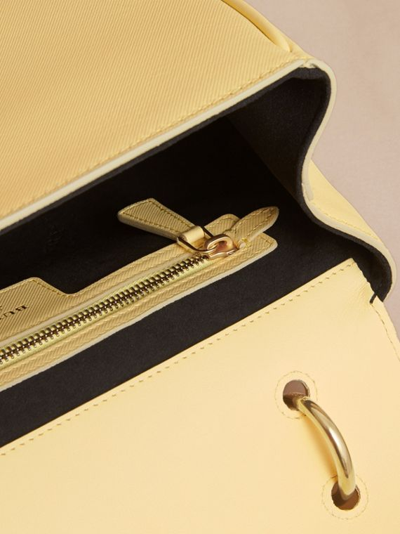 The Medium DK88 Top Handle Bag in Camomile Yellow - Women | Burberry - cell image 3