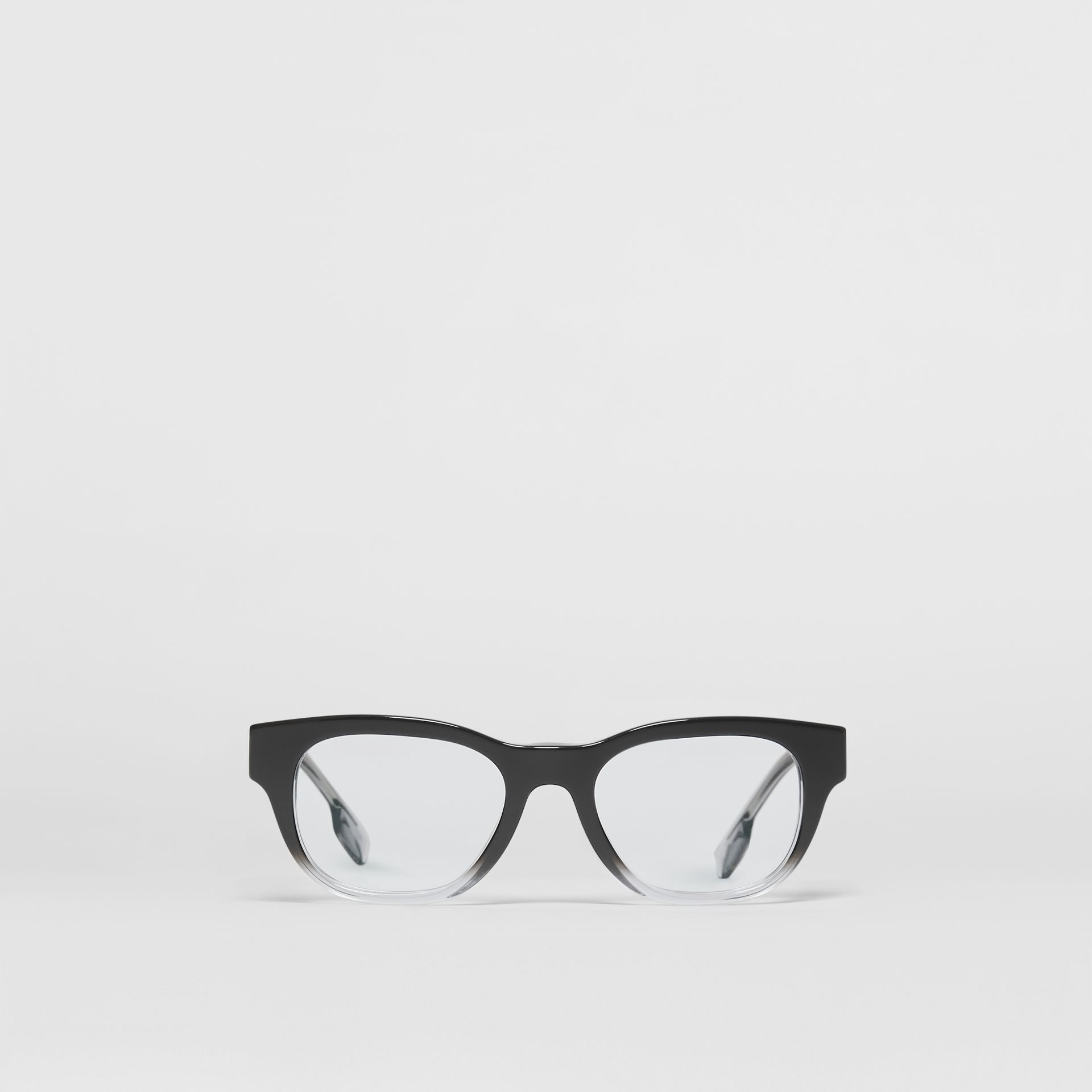 Square Optical Frames in Black - Men | Burberry United Kingdom - gallery image 0