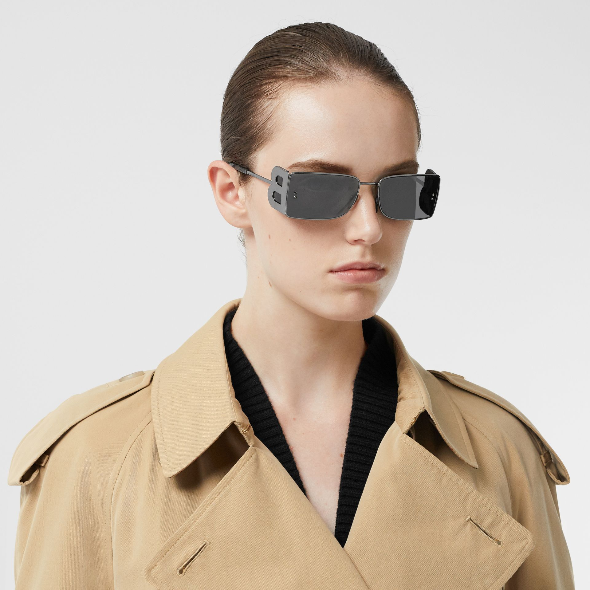 The Westminster – Trench Heritage long (Miel) - Femme | Burberry Canada - photo de la galerie 1