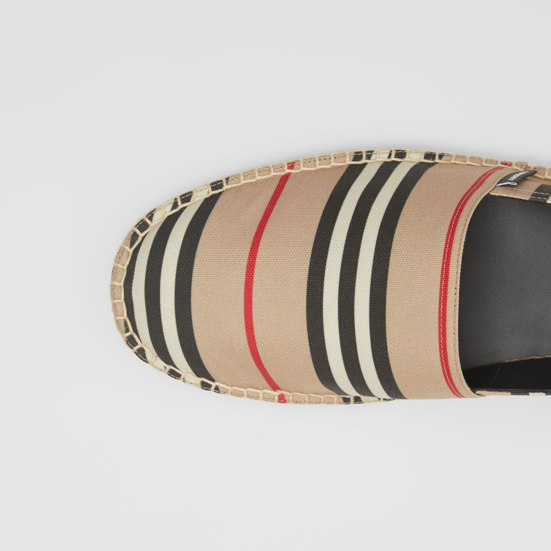 Icon Stripe Espadrilles in Archive Beige - Women | Burberry United Kingdom - gallery image 1