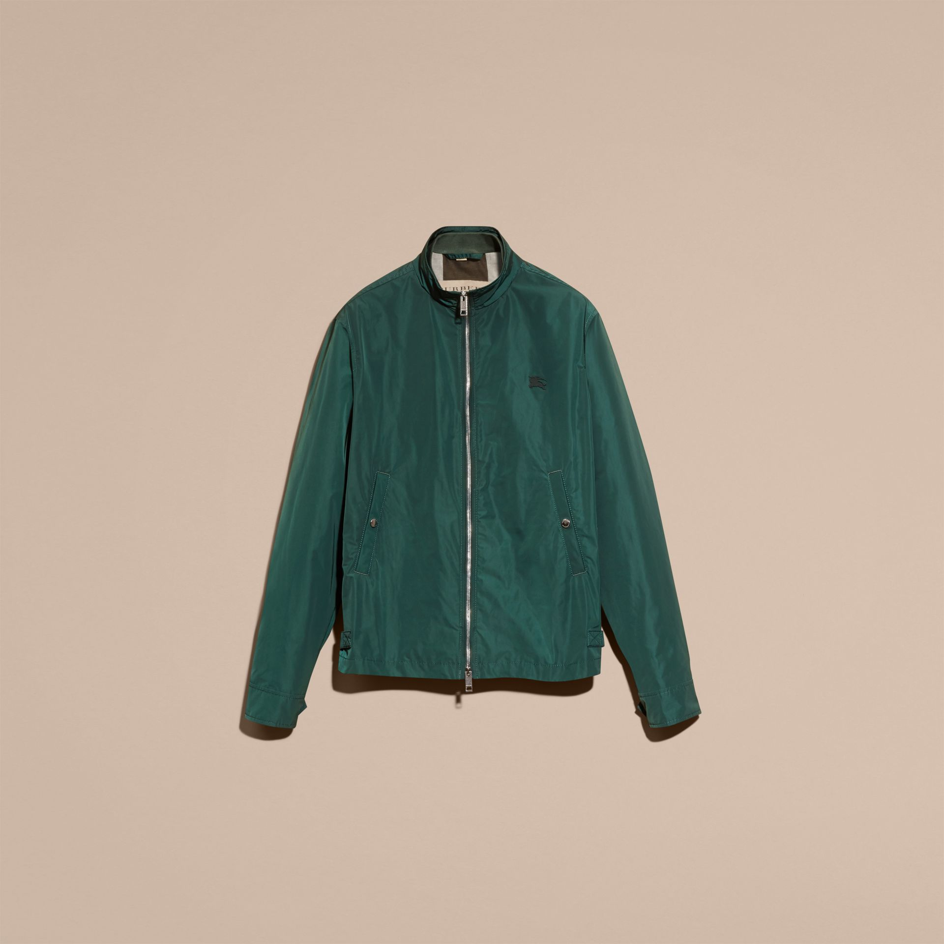 Lightweight Technical Jacket in Racing Green - Men | Burberry - gallery image 8