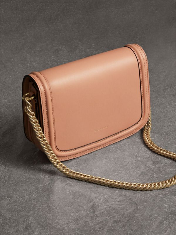 The Leather Link Bag in Peach - Women | Burberry - cell image 3