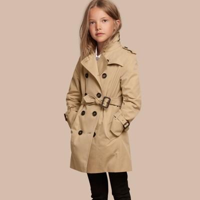 The Sandringham – Heritage Trench Coat in Honey - Girl | Burberry