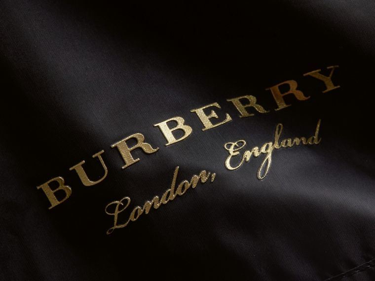Lightweight Bomber Jacket in Black - Women | Burberry Canada - cell image 1