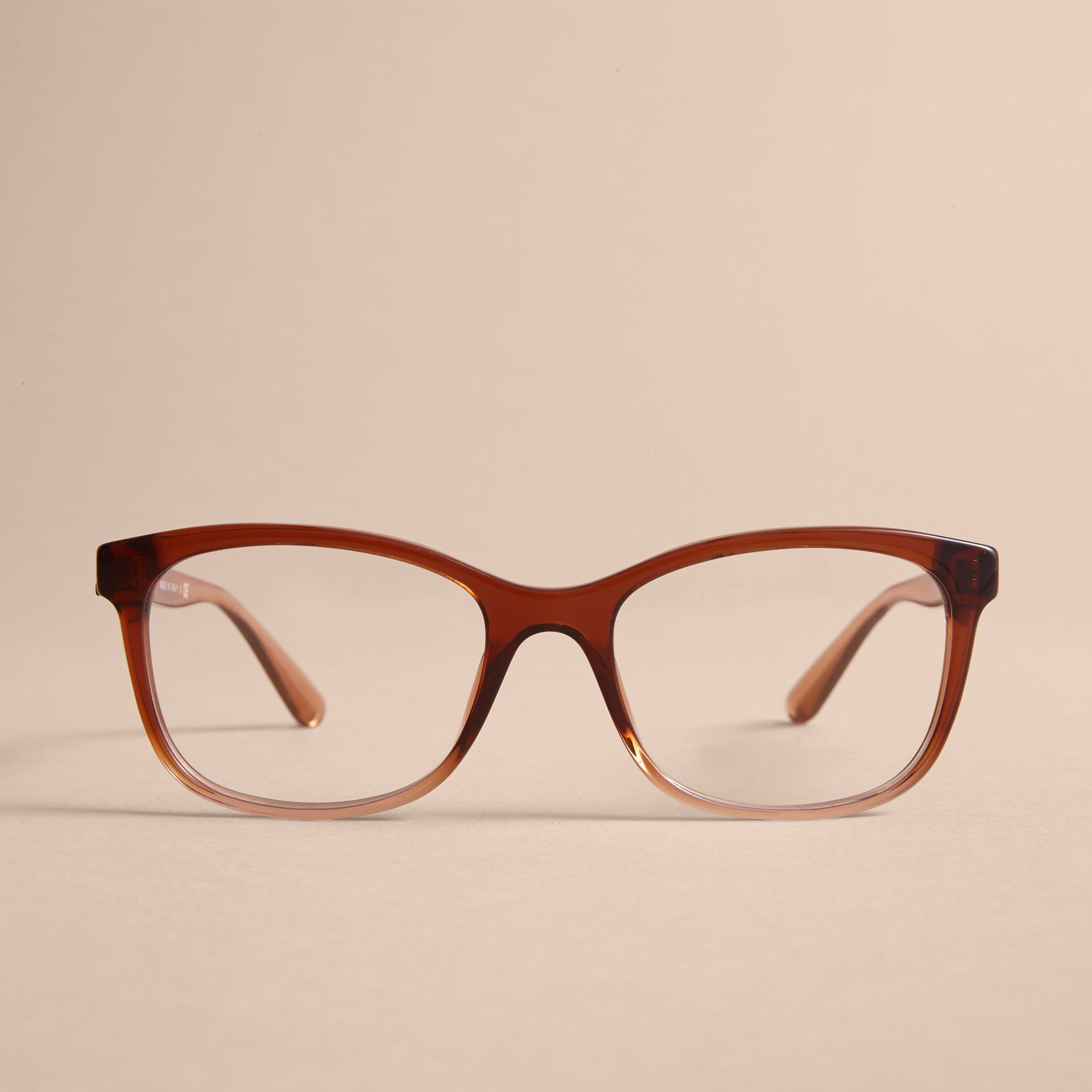 Check Detail Square Optical Frames - gallery image 3
