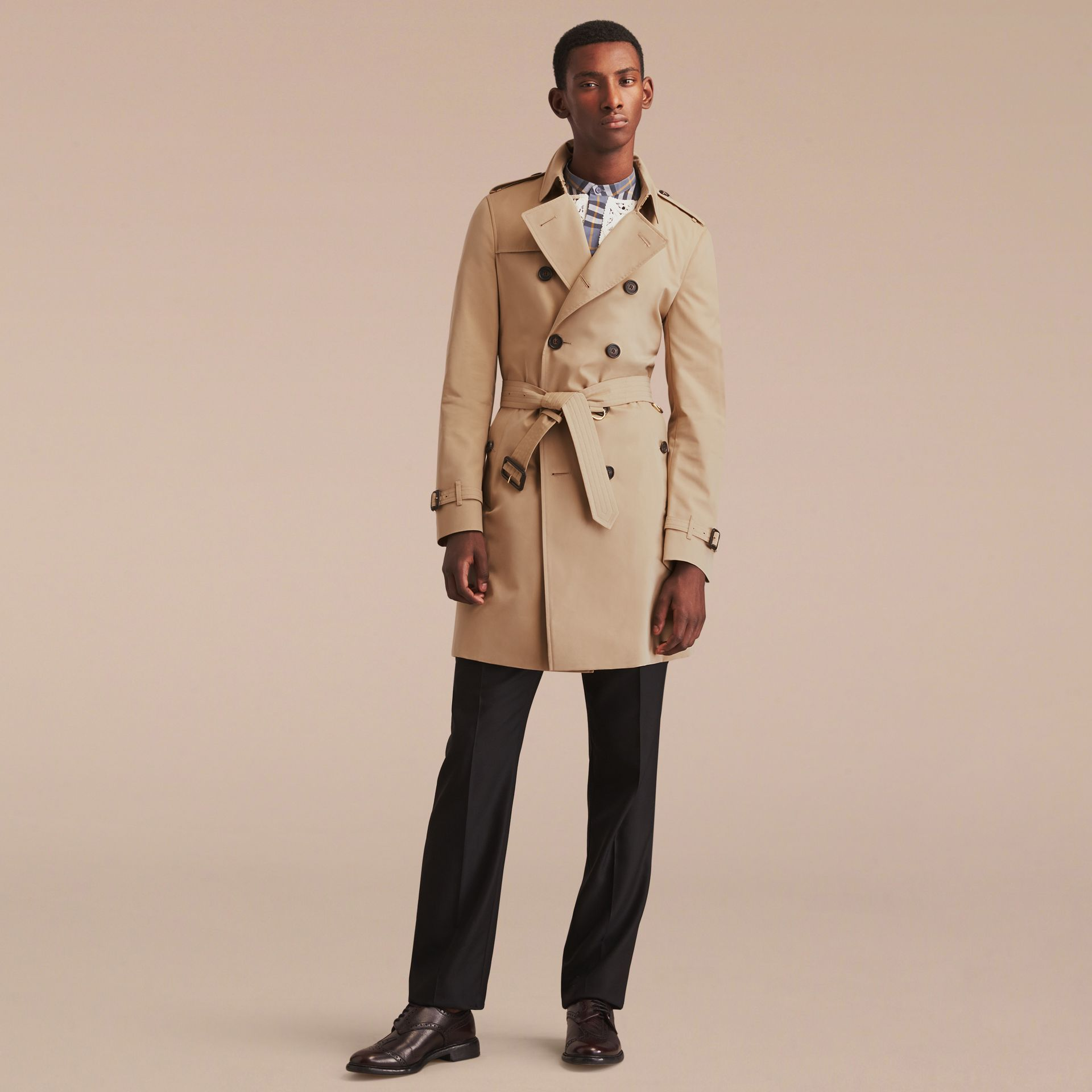 Mel The Chelsea – Trench coat Heritage longo Mel - galeria de imagens 9