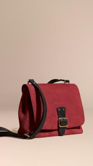 Grainy Nubuck Crossbody Bag