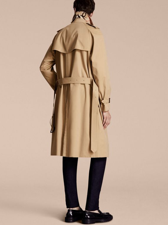 Miel Trench coat Westminster - Trench coat Heritage largo Miel - cell image 2