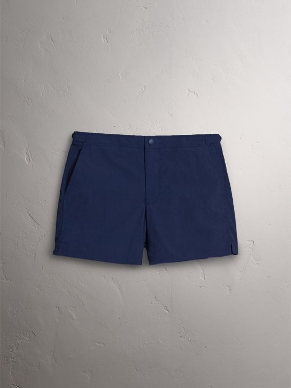 Tailored Swim Shorts in Bright Navy