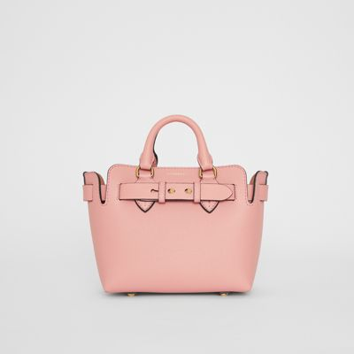 The Mini Leather Belt Bag by Burberry