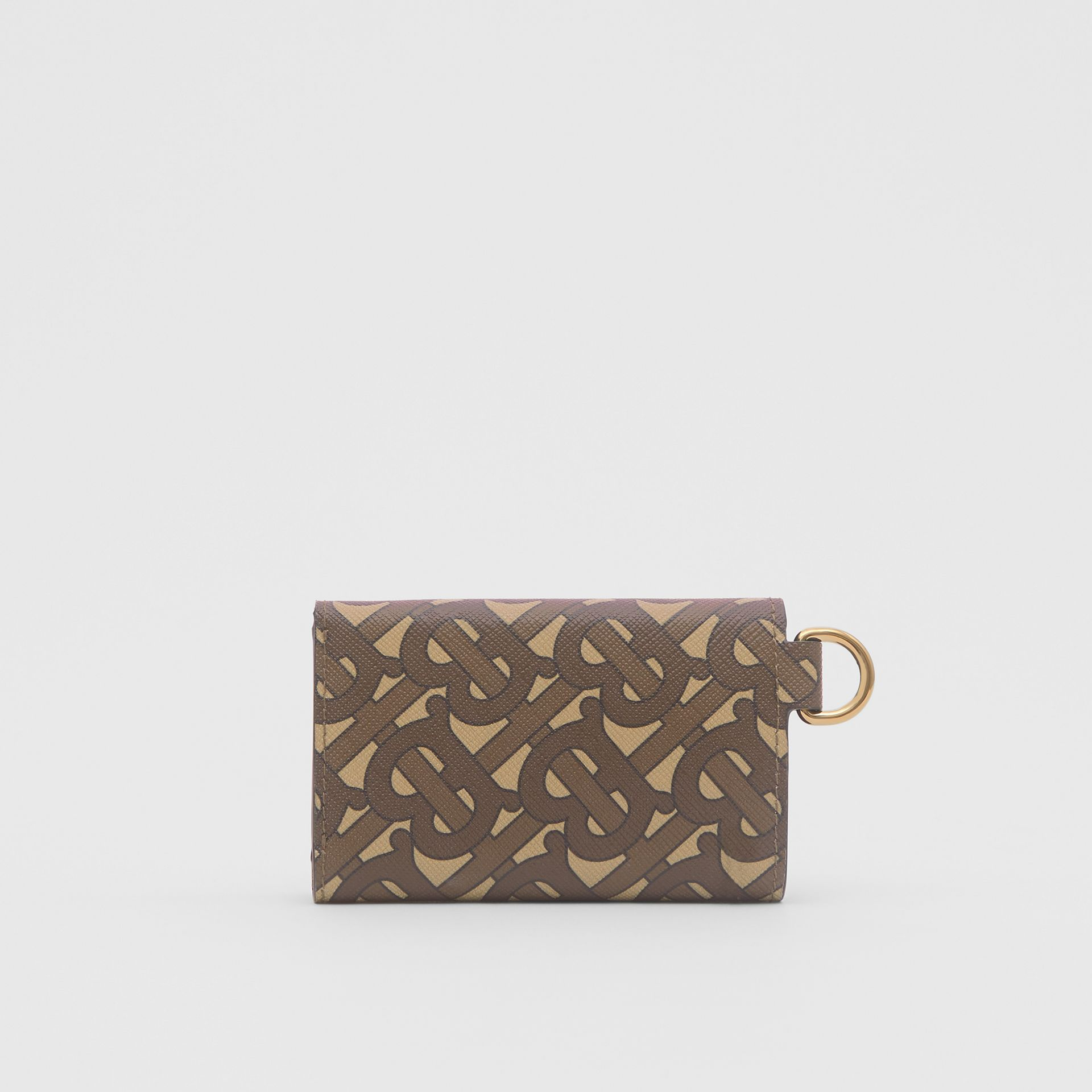 Small Monogram Print E-canvas Folding Wallet in Bridle Brown - Men | Burberry United Kingdom - gallery image 4