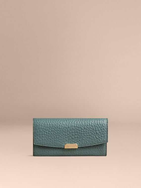 Celadon blue Signature Grain Leather Continental Wallet Celadon Blue - cell image 3