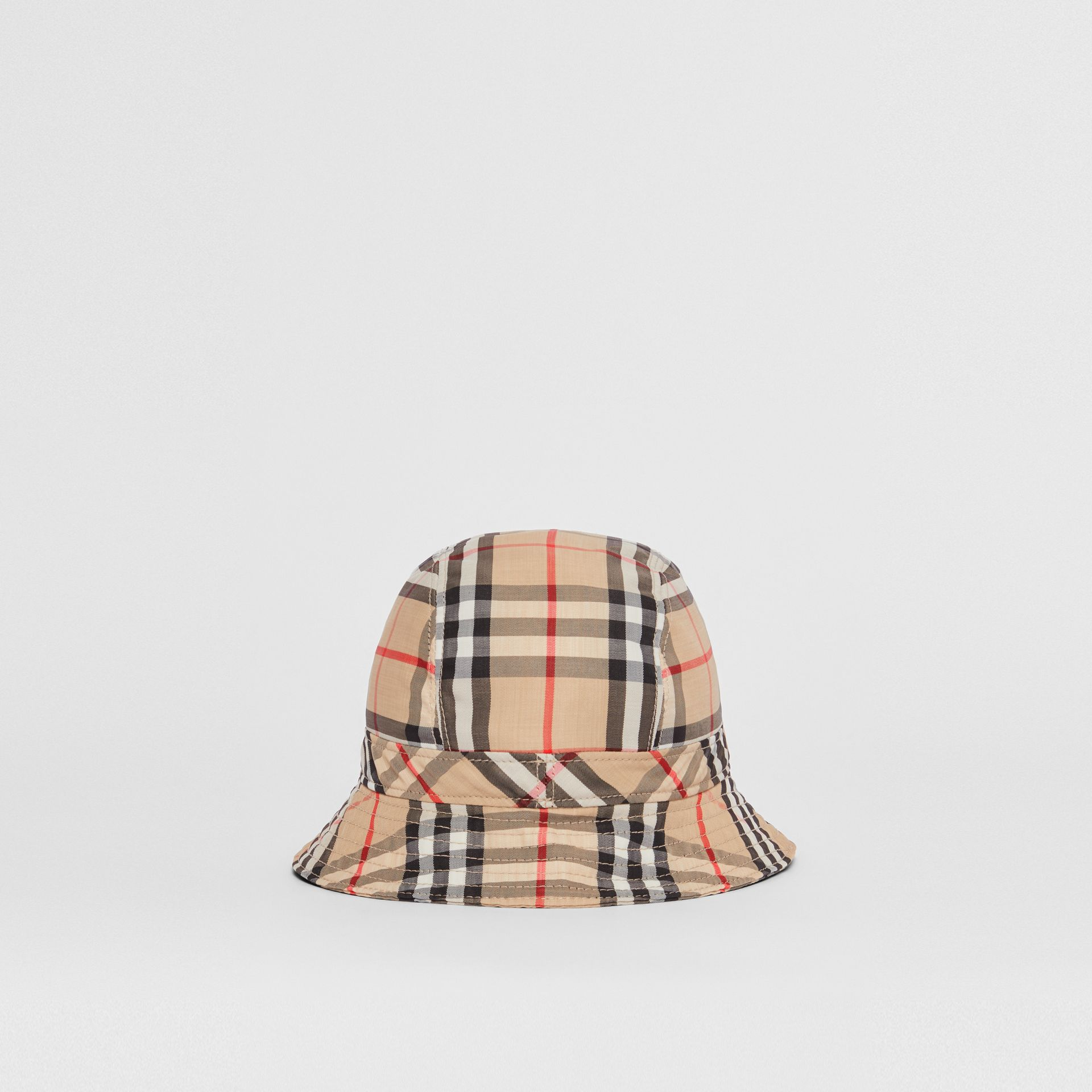 Vintage Check Bucket Hat in Archive Beige | Burberry Australia - gallery image 6