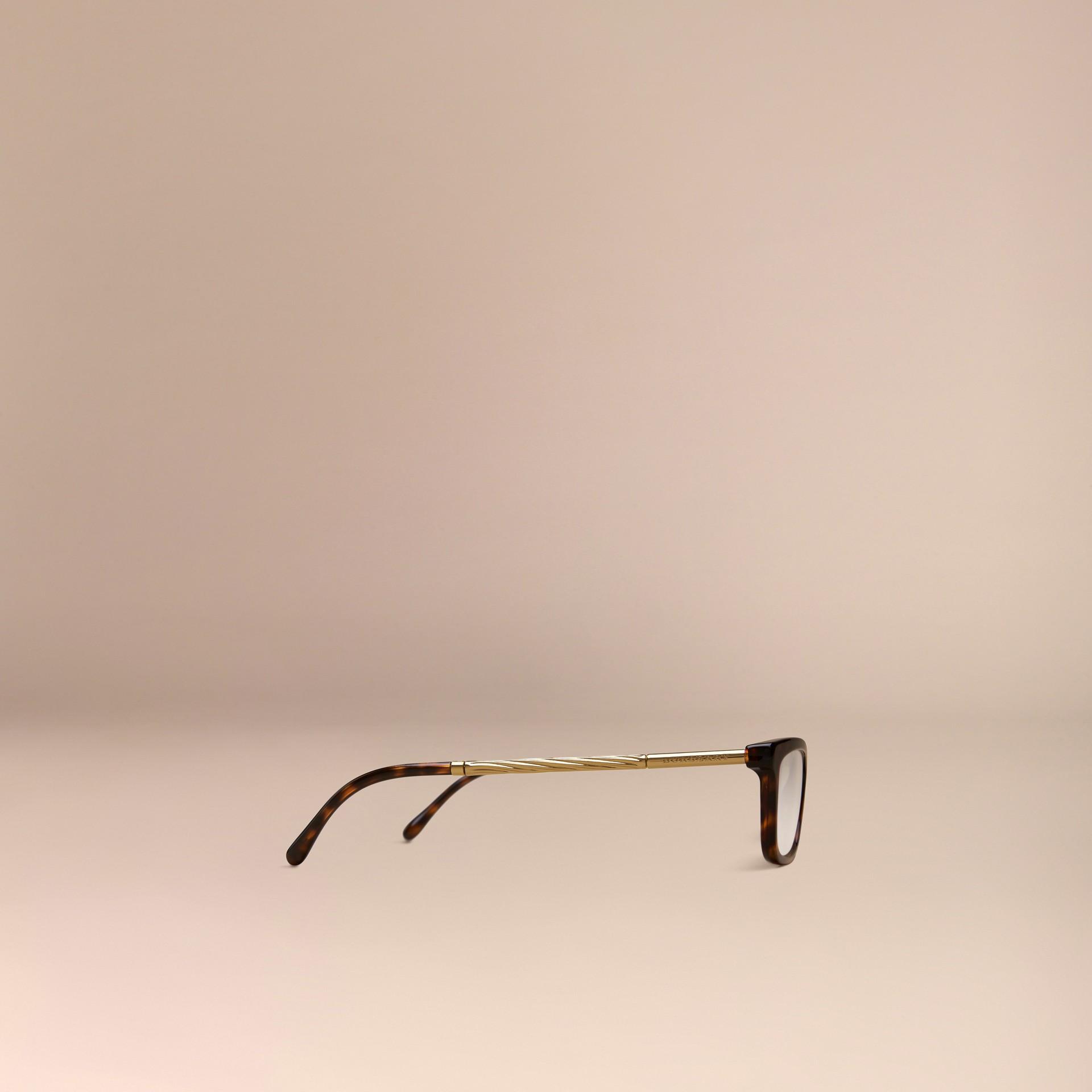 Metallic Detail Cat-eye Optical Frames - gallery image 4