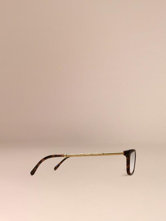Metallic Detail Cat-eye Optical Frames - cell image 3