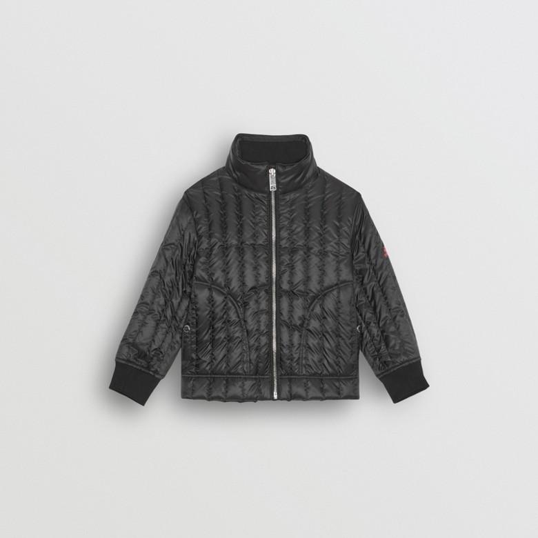 Burberry - Parka à capuche avec veste matelassée en duvet - 4