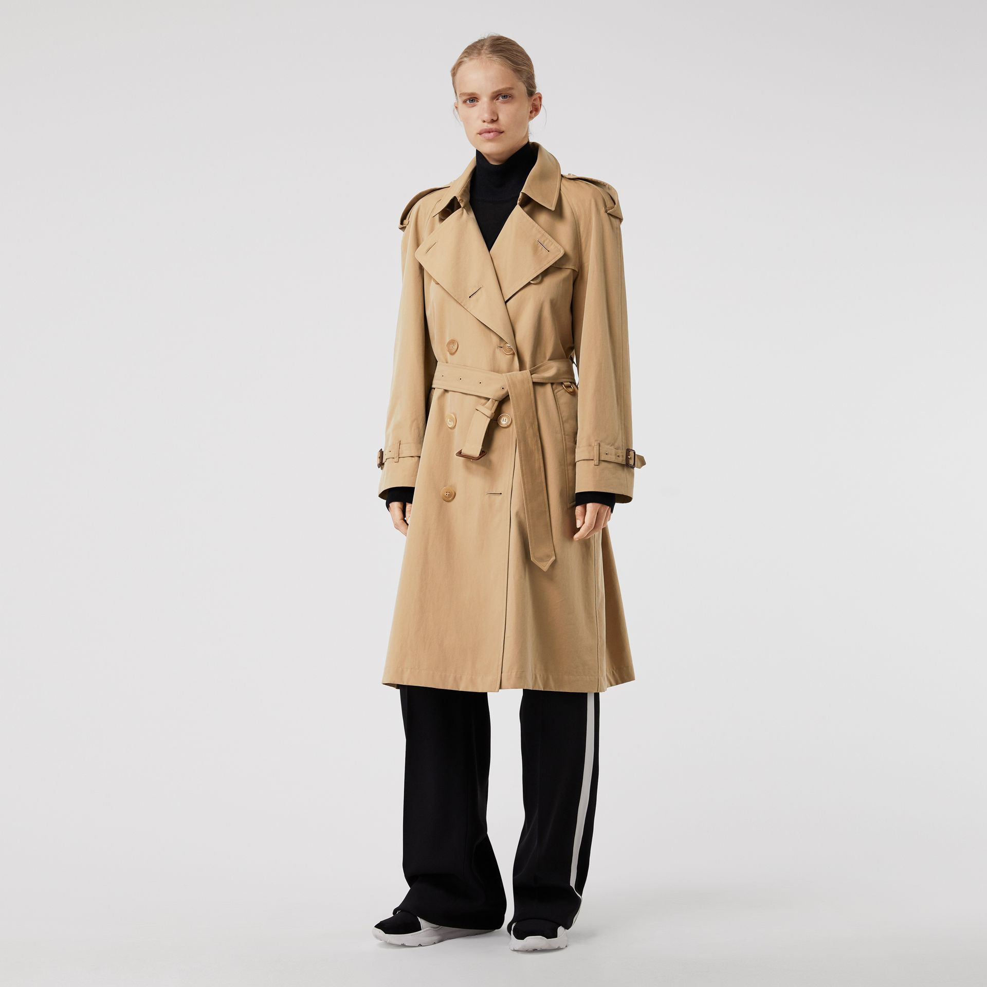 The Westminster Heritage Trench Coat in Honey - Women | Burberry - gallery image 0
