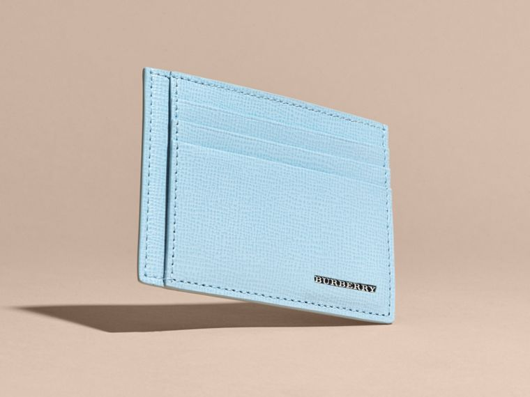 London Leather Card Case Powder Blue - cell image 4