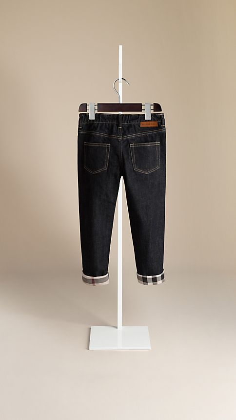 True indigo Casual Fit Jeans - Image 2