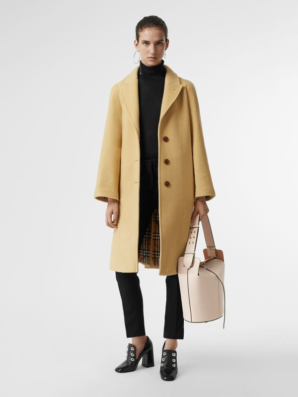 Sac The Bucket moyen en cuir (Calcaire) - Femme | Burberry Canada - cell image 3