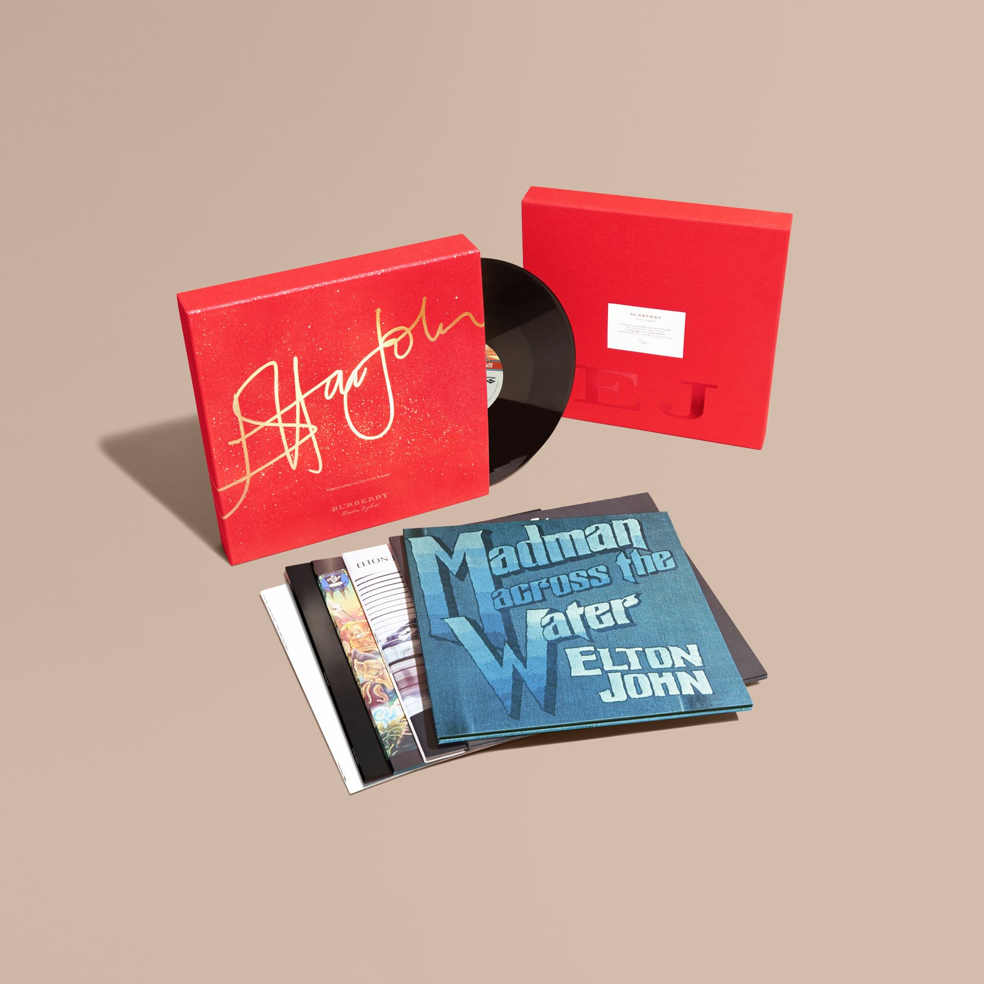 Multicolour Elton John: A Limited Edition Vinyl Box Set for Burberry - gallery image 1