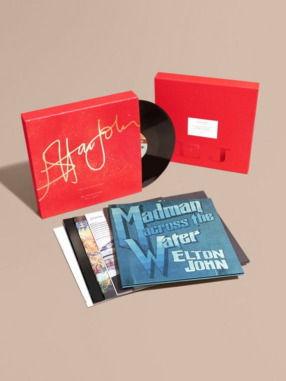 Elton John: A Limited Edition Vinyl Box Set for Burberry
