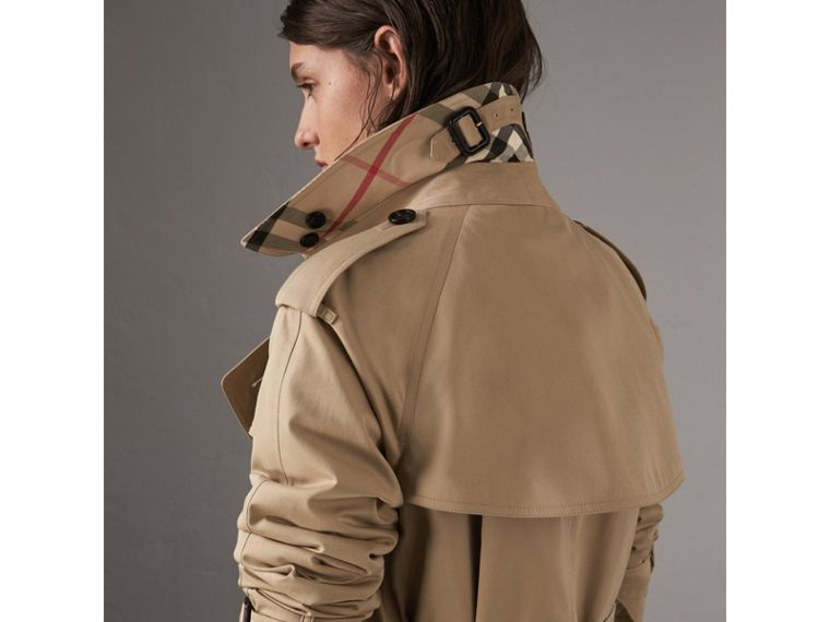The Westminster – Extra-long Trench Coat in Honey - Women | Burberry - cell image 1