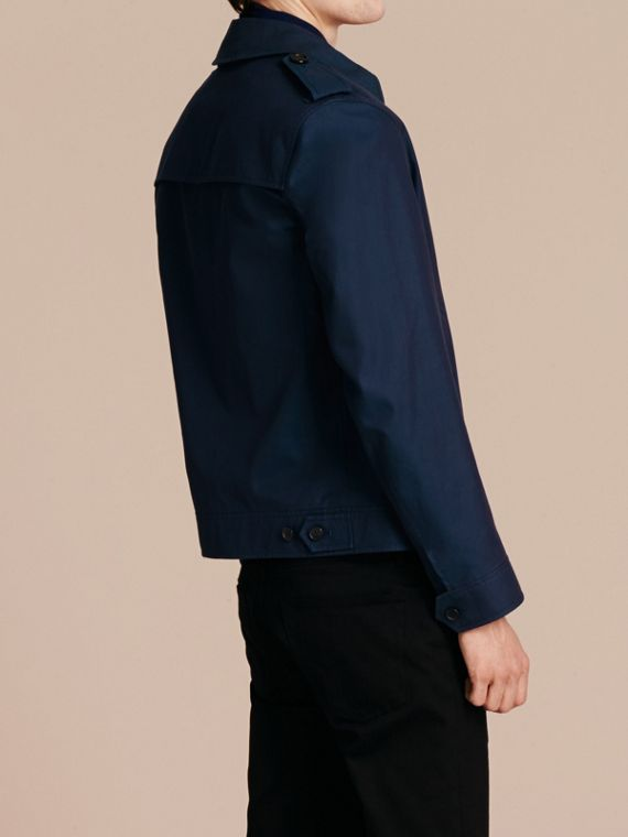 Flint blue Cotton Gabardine Jacket Flint Blue - cell image 2