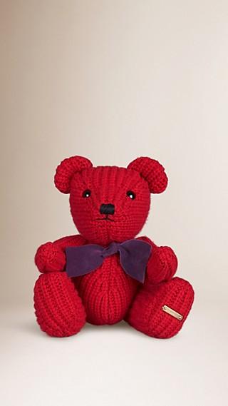 Teddy-bear en maille de cachemire
