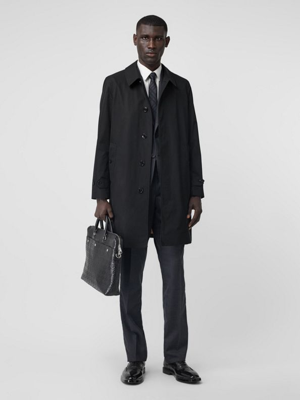 The Pimlico Heritage Car Coat in Black