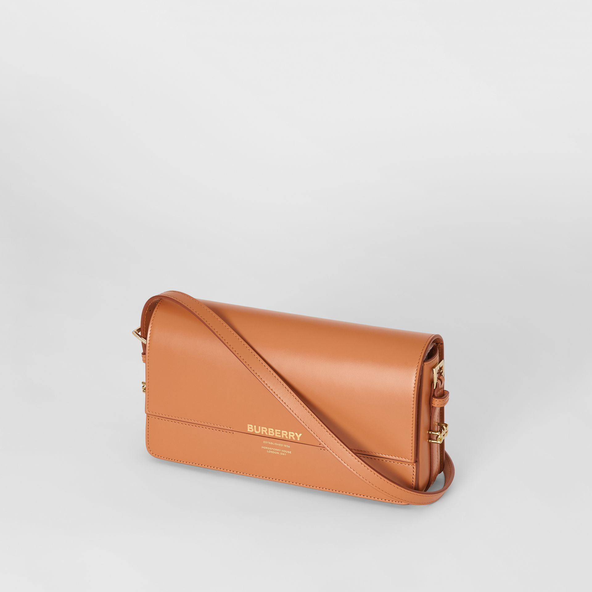 Mini Leather Grace Bag in Nutmeg - Women | Burberry - gallery image 3