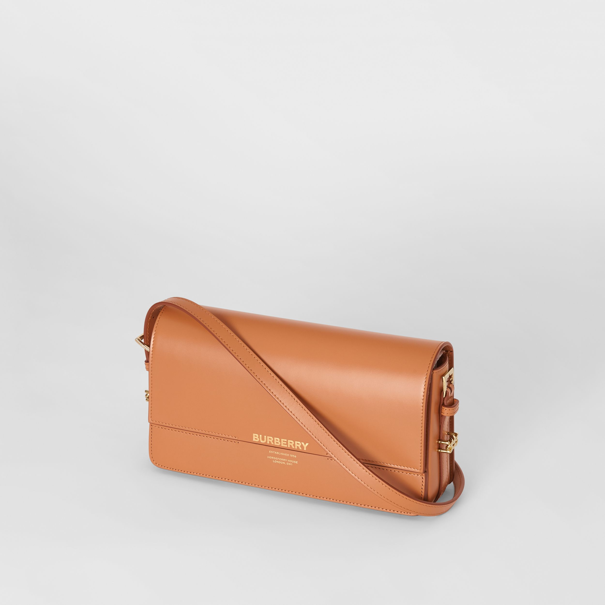 Mini Leather Grace Bag in Nutmeg - Women | Burberry - 4
