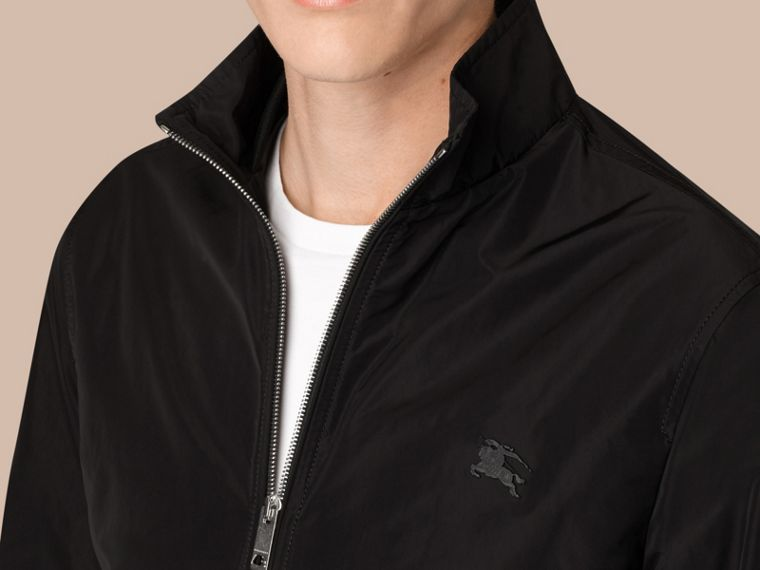 Black Lightweight Technical Jacket Black - cell image 1