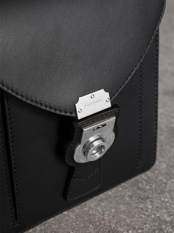 The Small DK88 Satchel in Black - Men | Burberry - cell image 1