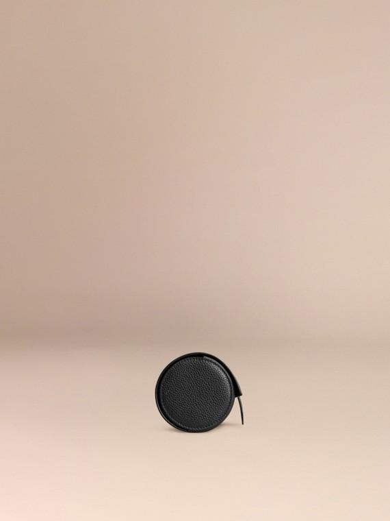 Nero Custodia per orologi in pelle a grana Nero - cell image 2