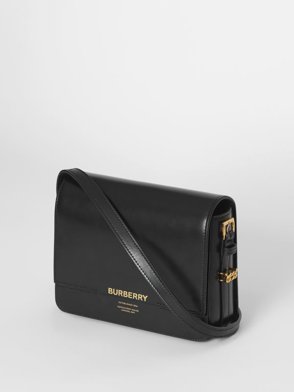 Small Leather Grace Bag in Black - Women | Burberry United Kingdom - cell image 3