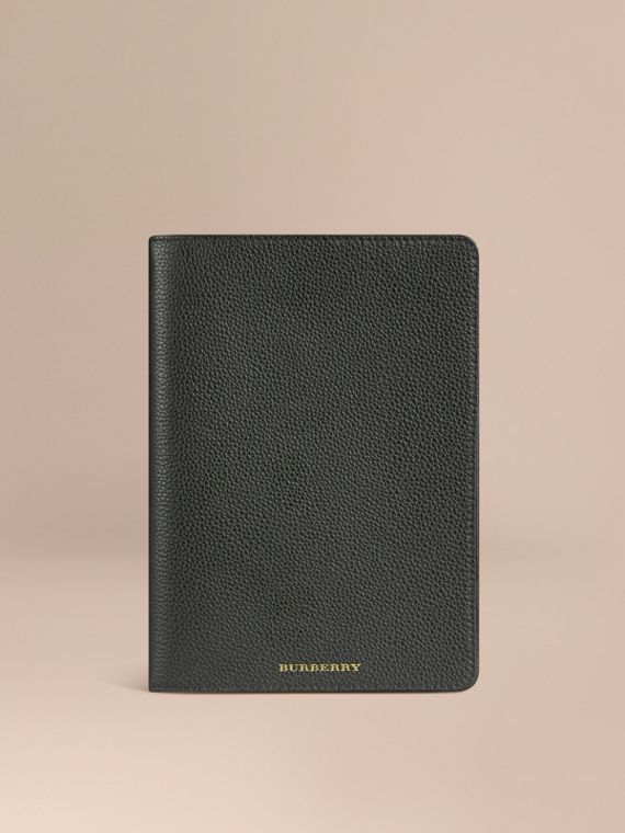 Grainy Leather iPad Mini Case Black