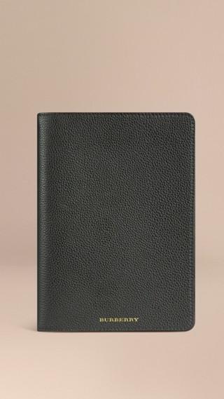 Étui pour iPad mini en cuir grainé