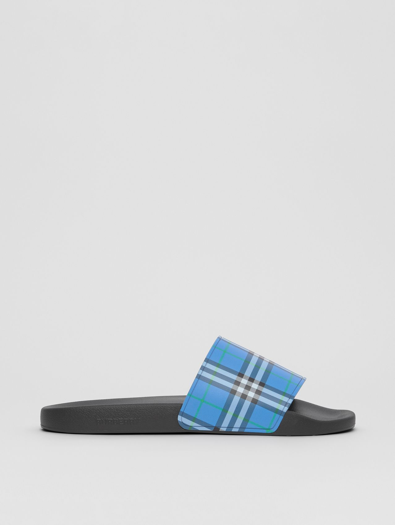 Check Print Slides in Dark Cerulean Blue